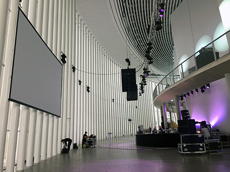 venue before the party